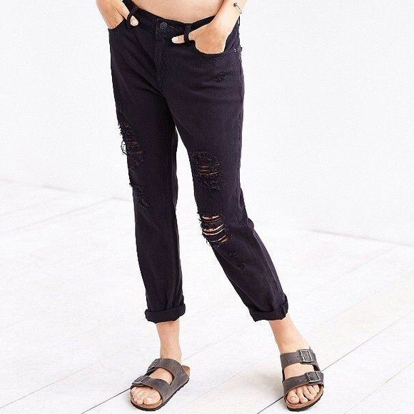 attractive price discount for sale terrific value Urban outfitters BDG slim boyfriend jean in black